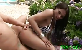 Teen Tranny Loves get fucked